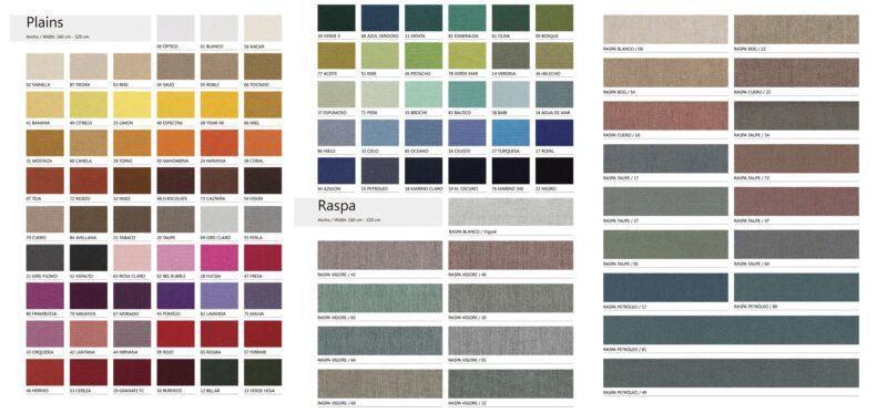 Каталог для заказа ткани Дралон
